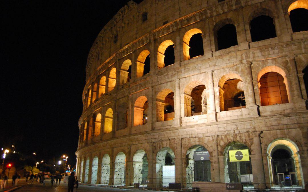 Ci alziamo al mattino e partiamo, Roma Capitale arriviamo!