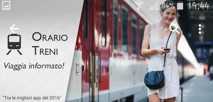 La miglior app per l'orario dei treni
